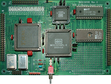 W65C265DB Developer Board