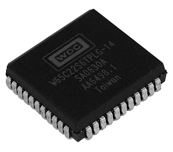 This is a Picture of the W65C22S6TPLG-14 Versatile Interface Adapter (VIA) Plastic Leaded 